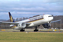 Airplane Picture - A Singapore Airlines 777-300ER