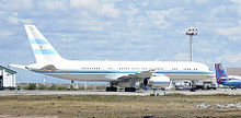 Airplane Picture - Argentinian 757 Presidential Transport Tango 01
