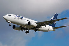 Airplane Picture - A TAROM 737-700