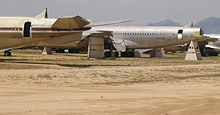 Airplane Picture - Boeing 707s at AMARG being used for salvage parts for the KC-135s.