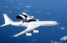 Airplane Picture - USAF E-3 Sentry in flight