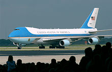 Airplane Picture - VC-25A 29000, one of the two customized Boeing 747-200Bs that have been part of the U.S. presidential fleet since 1990
