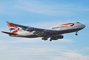 Airplane Picture - A Boeing 747-400 operated by British Airways, the largest operator of the 747