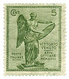 World War 1 Picture - Postage stamp, Italy, 1921.