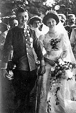 World War 1 Picture - The wedding of Zita and Charles, 21 October 1911