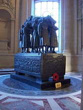 World War 1 Picture - Ferdinand Foch's tomb in Les Invalides.