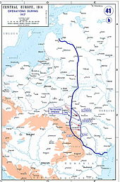World War 1 Picture - The Eastern Front, as of 1917