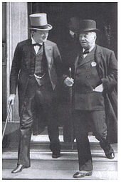 World War 1 Picture - Churchill and Fisher