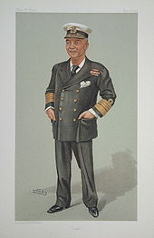 World War 1 Picture - Fisher's caricature by 'Spy' (Leslie Ward) published in Vanity Fair 1902. The magazine printed a cartoon of a topical figure each week.