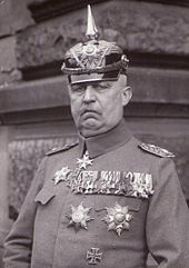 World War 1 Picture - Ludendorff in 1935