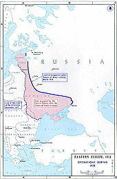 World War 1 Picture - Territory lost by Russia under the Treaty of Brest-Litovsk