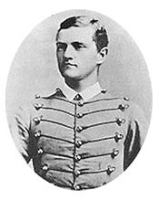 World War 1 Picture - Cadet Pershing in 1886