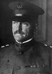 World War 1 Picture - Major General Pershing of the National Army