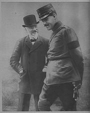 World War 1 Picture - Constantine with Eleftherios Venizelos in 1913.