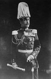 World War 1 Picture - King Constantine I of Greece in the uniform of a German Field Marshal, a rank awarded to him by German Emperor Wilhelm II in 1913.