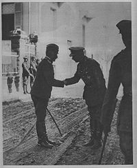 World War 1 Picture - General Mi�ić and British general George Milne.