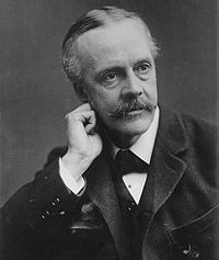 World War 1 Picture - Arthur James Balfour.