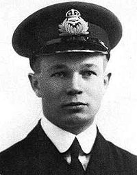 World War 1 Picture - Captain Arthur Roy Brown was officially credited by the RAF with shooting down Richthofen.
