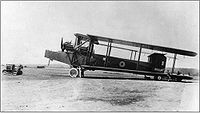 World War 1 Picture - A Royal Air Force Handley Page Type O
