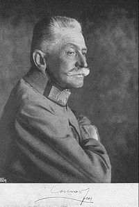 World War 1 Picture - Count Franz Conrad von Hx�tzendorf, Chief of the General Staff of the Austro-Hungarian Army from 1906 to 1918.