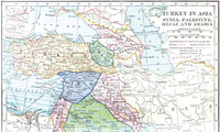 World War 1 Picture - Map showing