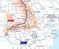 World War 1 Picture - Disposition of Romanian forces in Austria-Hungary, August 1916