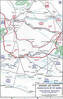World War 1 Picture - The Allied counter-offensive.