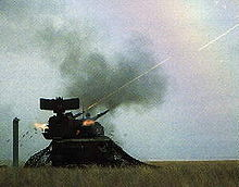 World War 1 Picture - The Tunguska gun-missile Anti-Aircraft system employs two 2A38M 30 mm autocannons and eight 9M311 SAMs for low altitude air defence.