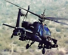World War 1 Picture - AH-64 Apache, an attack helicopter designed to destroy armoured vehicles.