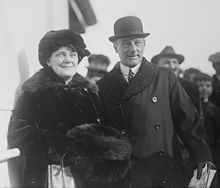 World War 1 Picture - Lord and Lady Jellicoe, 1924