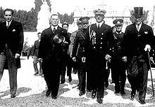 World War 1 Picture - During the visit of Alexander I of Yugoslavia in 1931.