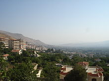 World War 1 Picture - Zabadani resort 45 km (27.96 mi) west of Damascus