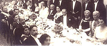 World War 1 Picture - During a reception at the USSR Embassy in Ankara, on 7 November 1927.