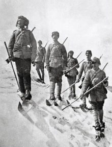 World War 1 Picture - Ottoman 3rd Army winter gear