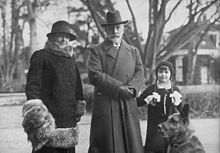 World War 1 Picture - With second wife, Hermine, and her daughter, Princess Henriette.