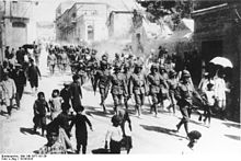 World War 1 Picture - German soldiers in Jerusalem