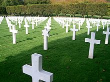 World War 1 Picture - American Cemetery at Romagne-sous-Montfaucon