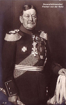 World War 1 Picture - Goltz as Field Marshal