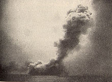 World War 1 Picture - HMS Queen Mary blowing up