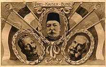 World War 1 Picture - Kaiser Wilhelm II, Mehmed V, Franz JosephThe three emperors of the Central Powers.