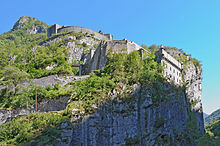 World War 1 Picture - The Fort du Portalet in the Pyrenees