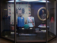 World War 1 Picture - Uniforms and other items of the Emperor at the Heeresgeschichtliches Museum Wien