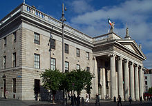 World War 1 Picture - General Post Office, Dublin. Centre of the Easter Rising