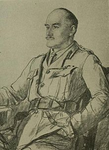 World War 1 Picture - Drawing of Allenby from journal