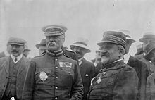 World War 1 Picture - General French (left) in Paris