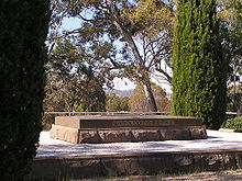 World War 1 Picture - General Bridges grave at Duntroon. The consultant designer and architect was Walter Burley Griffin