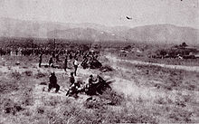 World War 1 Picture - The Colombian Army countering a Peruvian attack