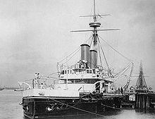 World War 1 Picture - HMS Dreadnought, ca. 1894