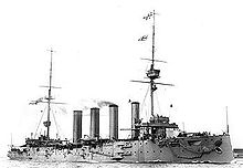 World War 1 Picture - HMS Good Hope.