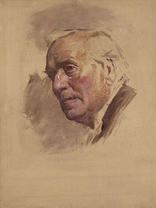 World War 1 Picture - Portrait of Asquith by Sir James Guthrie, circa 1924-1930